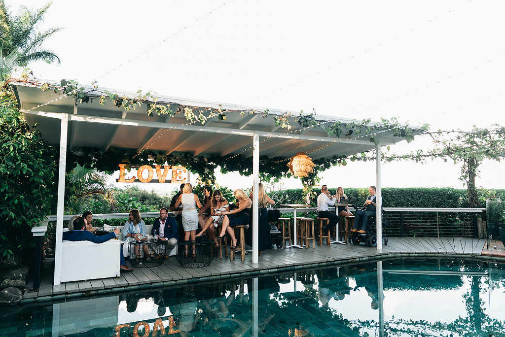 Fairy Light Canopy over pool FT | $450 | 120mtrs