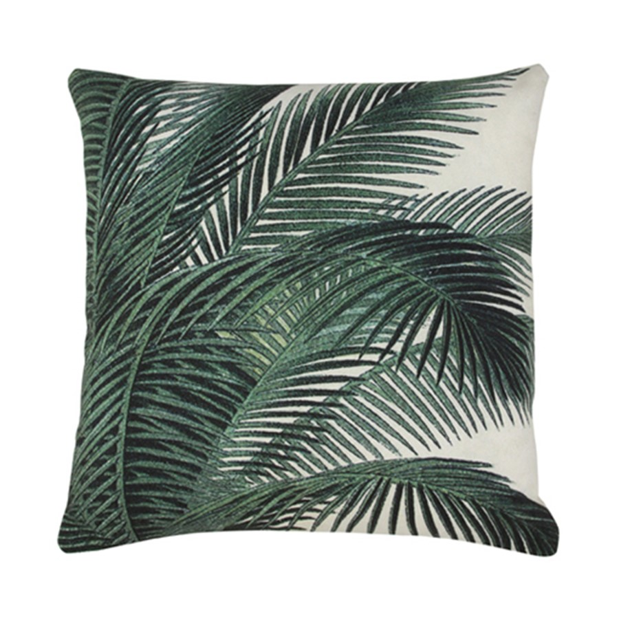 Printed Palm Cushion | $10ea | Qty 2