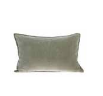 Sage Green Velvet Cushion | $12ea | Qty 2