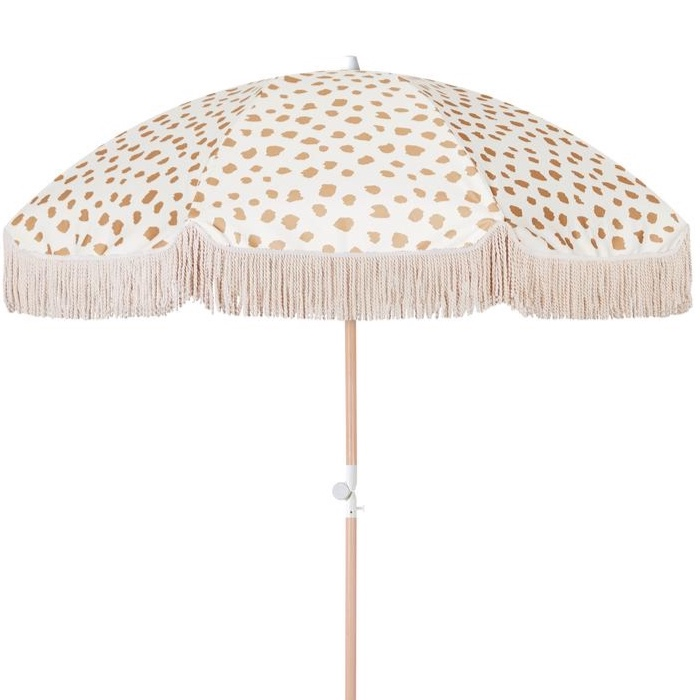 Fringe Umbrella - Golden Sands I $70ea I Qty 2