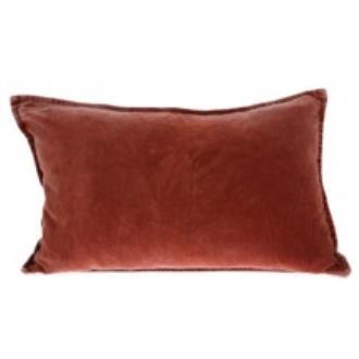 Burnt Orange Velvet Cushion | $12ea | Qty 2