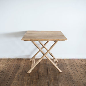 Bamboo Cafe Table | $40ea | Qty 4