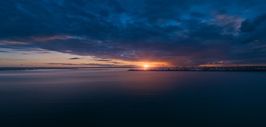 Sunset over Botany Bay, Sydney, Australia