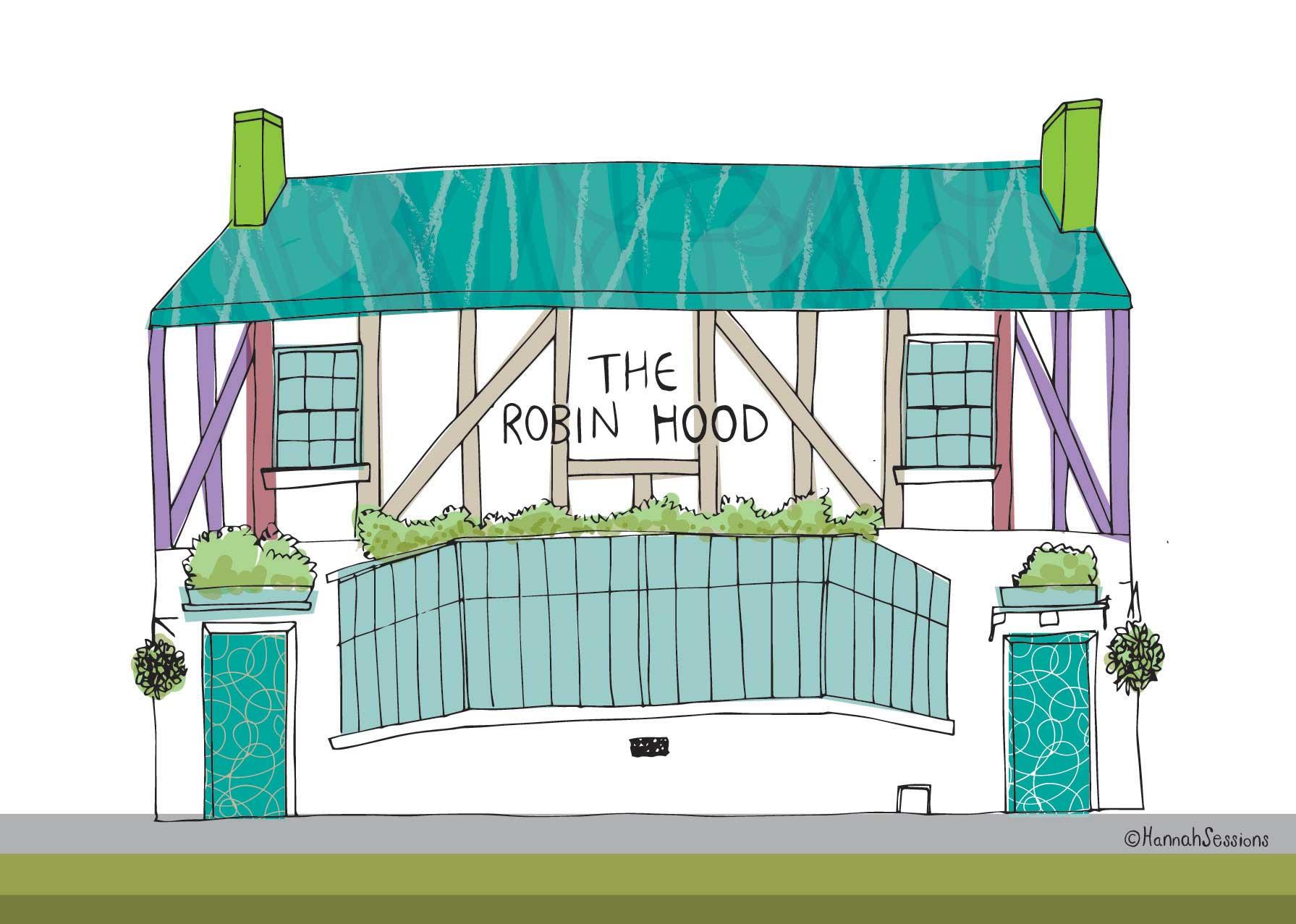 ROBIN HOOD, ST ALBANS
