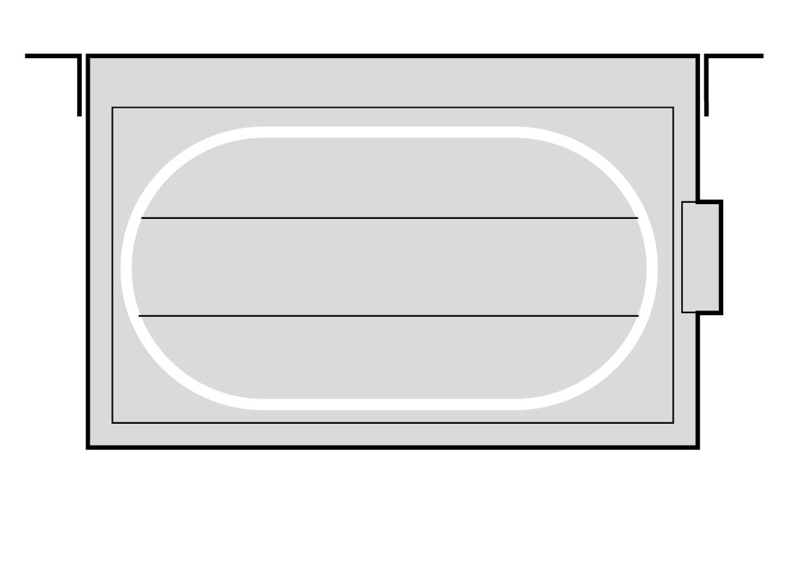 SS701 - Flat Oval