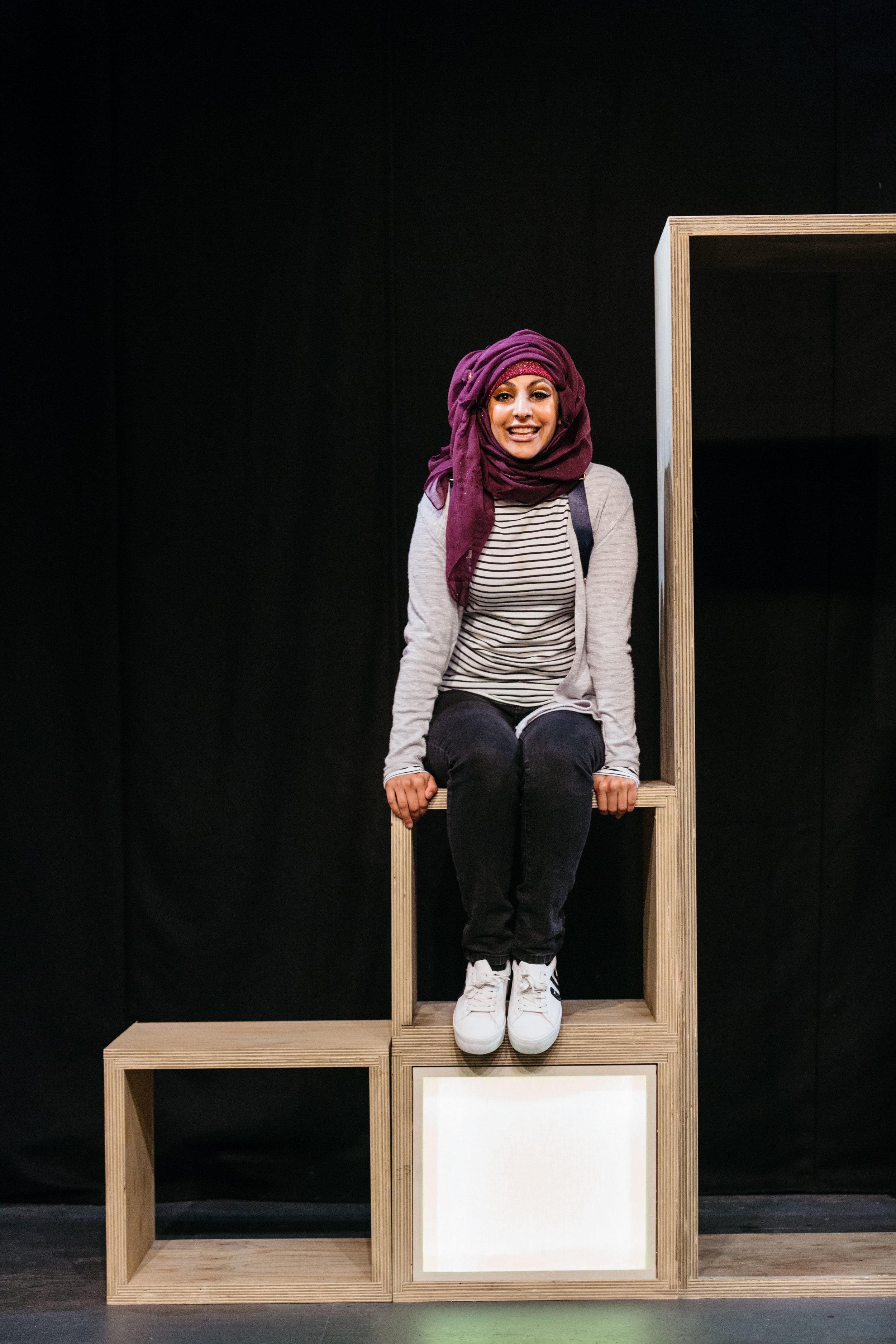 Aryana Ramkhalawon in Hijabi Monologues London directed by Milli Bhatia-327 ©helenmurray.jpg