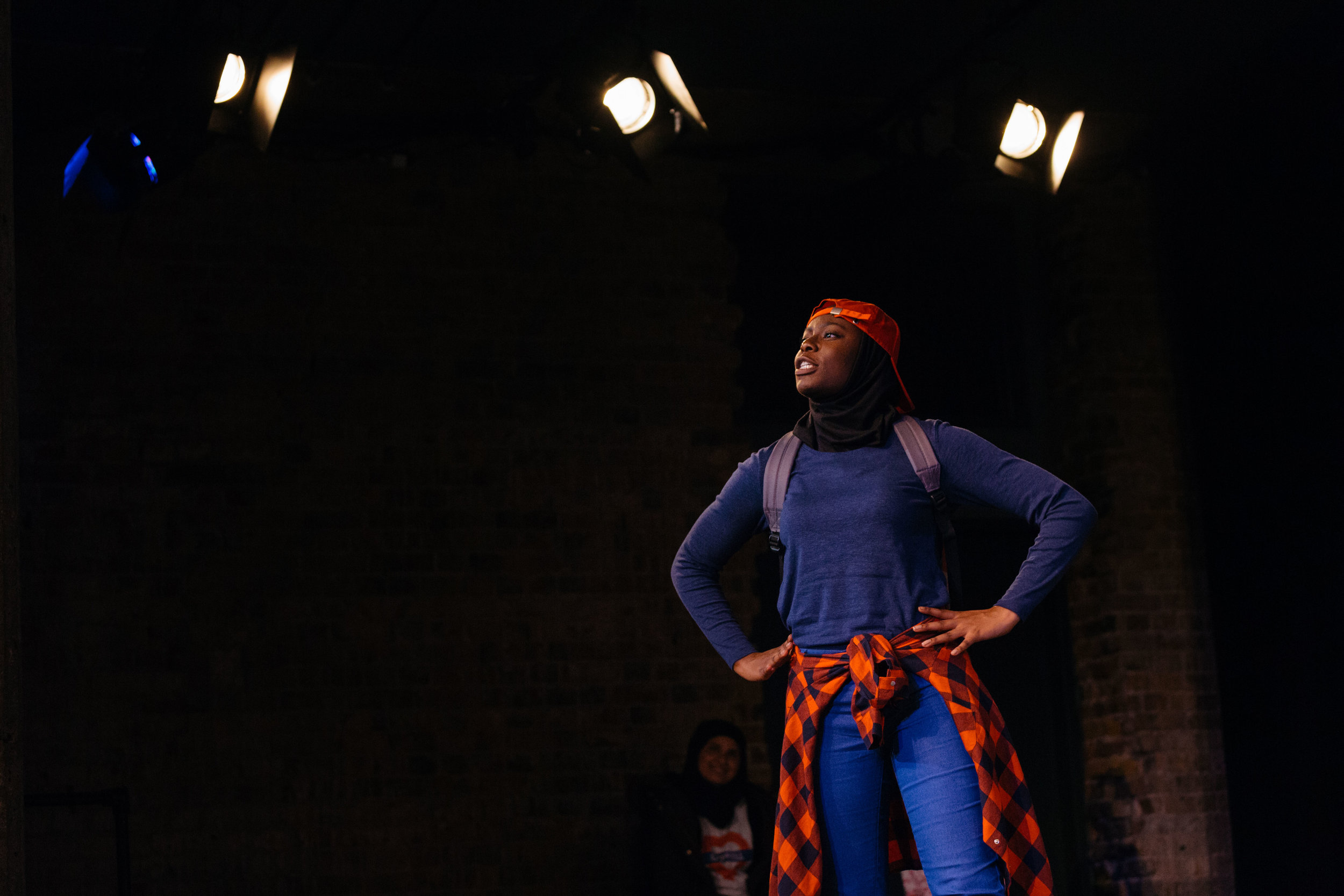Michal Keyamo in Hijabi Monologues London directed by Milli Bhatia-889 ©helenmurray.jpg