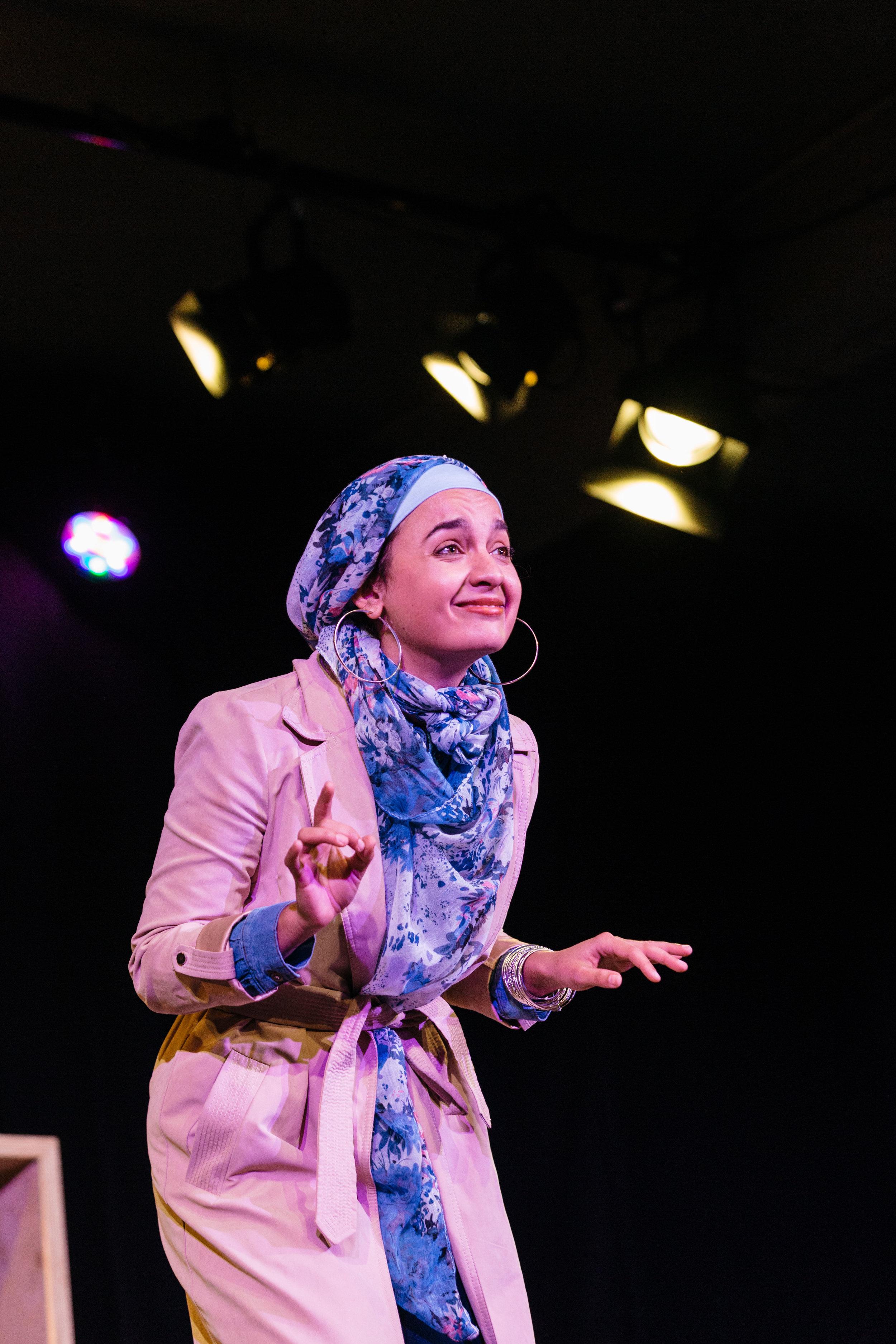 Nadi Kemp-Sayfi in Hijabi Monologues London directed by Milli Bhatia-717 ©helenmurray.jpg
