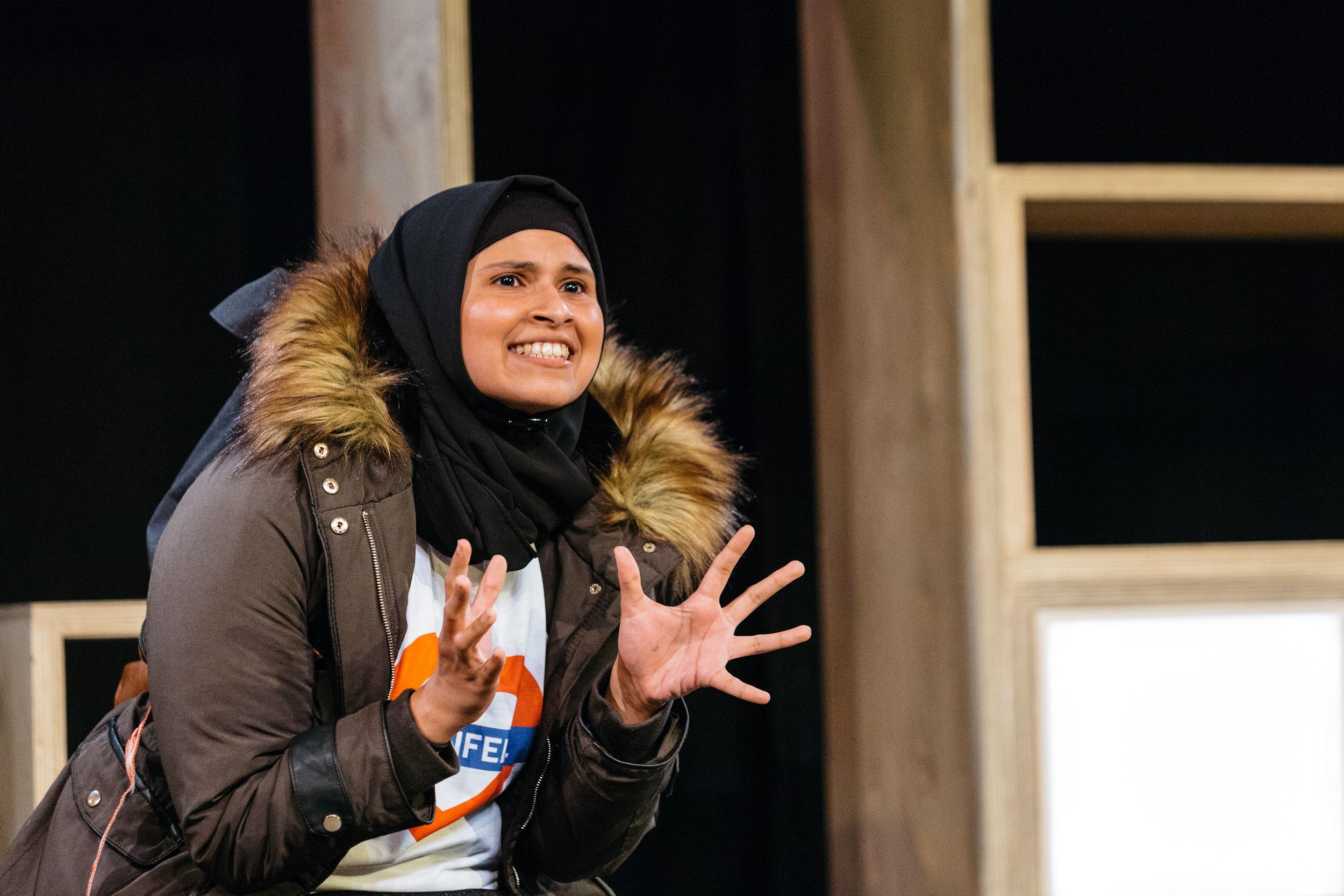 Zainab Hasan in Hijabi Monologues London directed by Milli Bhatia-463 ©helenmurray.jpg