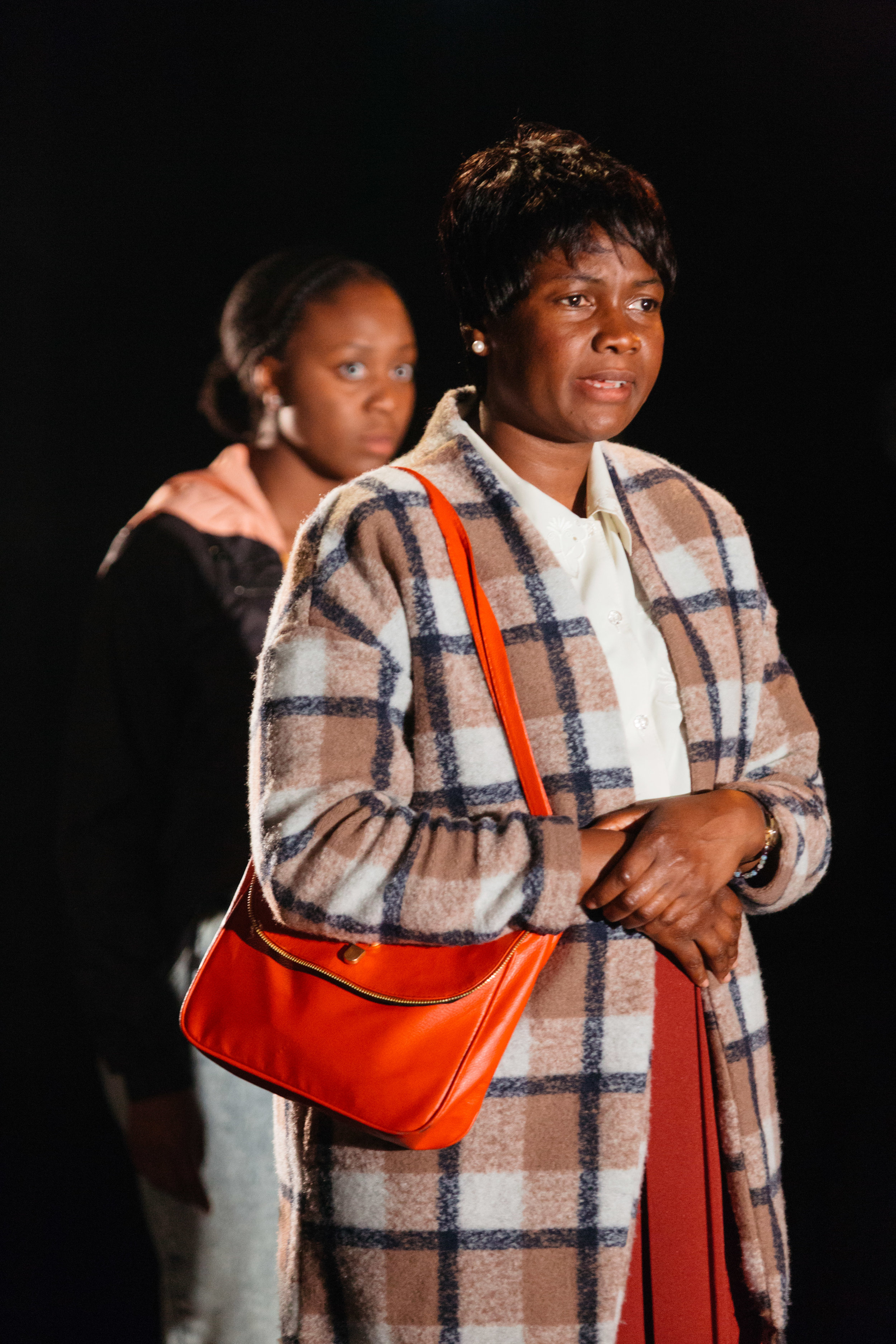 Nicholle Cherrie and Sarah Niles in Leave Taking at the Bush Theatre © Helen Murray.jpg