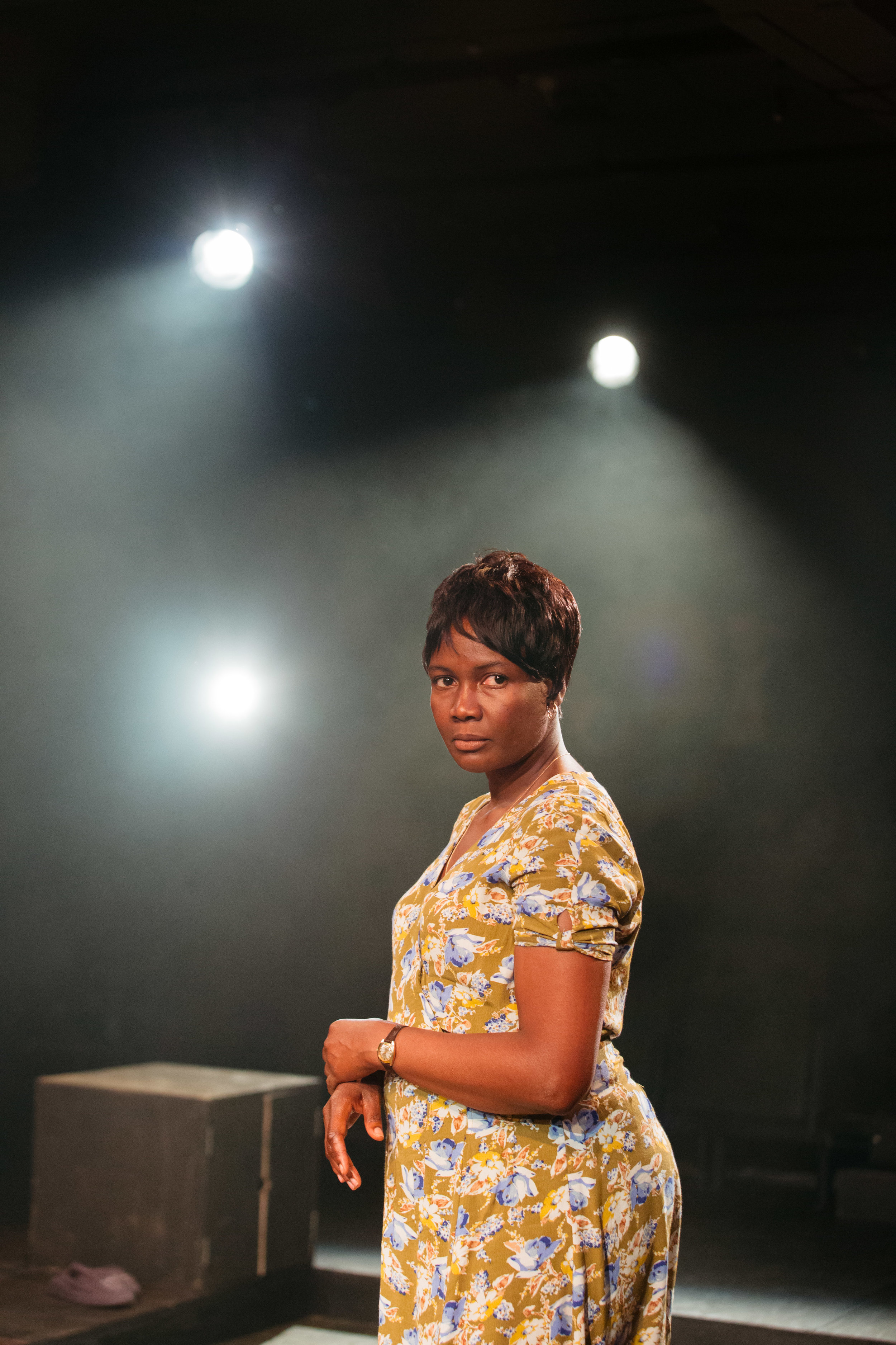 Sarah Niles in Leave Taking at the Bush Theatre © Helen Murray.jpg