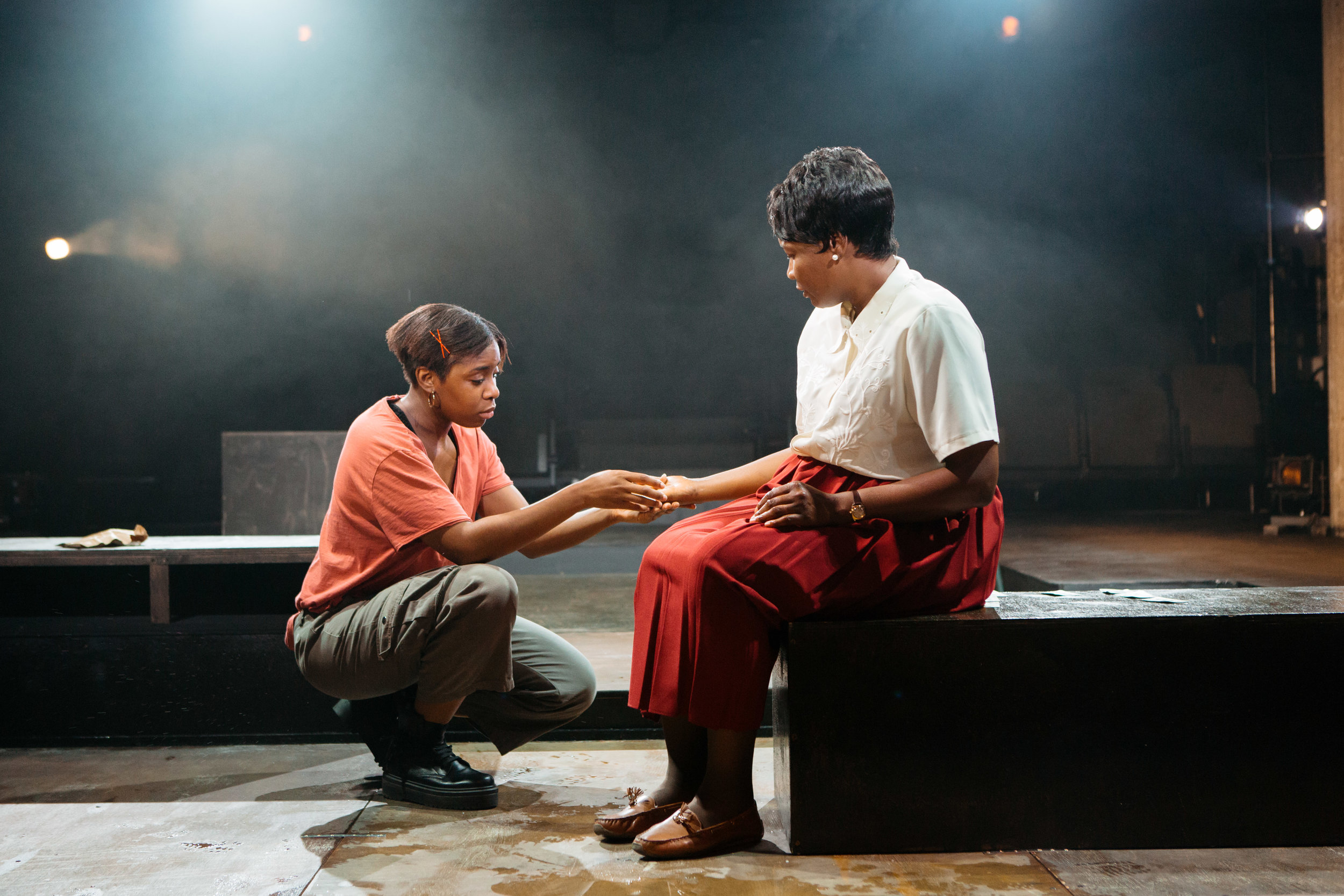 Seraphina Beh and Sarah Niles in Leave Taking at the Bush Theatre © Helen Murray.jpg