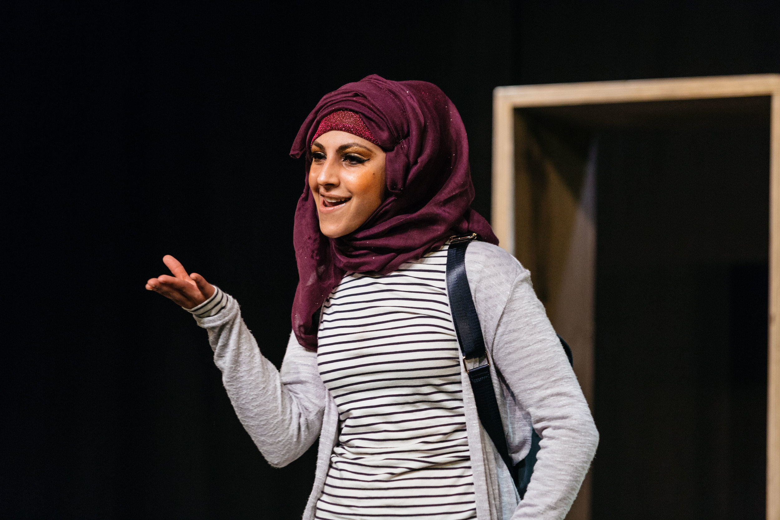 Aryana Ramkhalawon in Hijabi Monologues London directed by Milli Bhatia-322 ©helenmurray.jpg