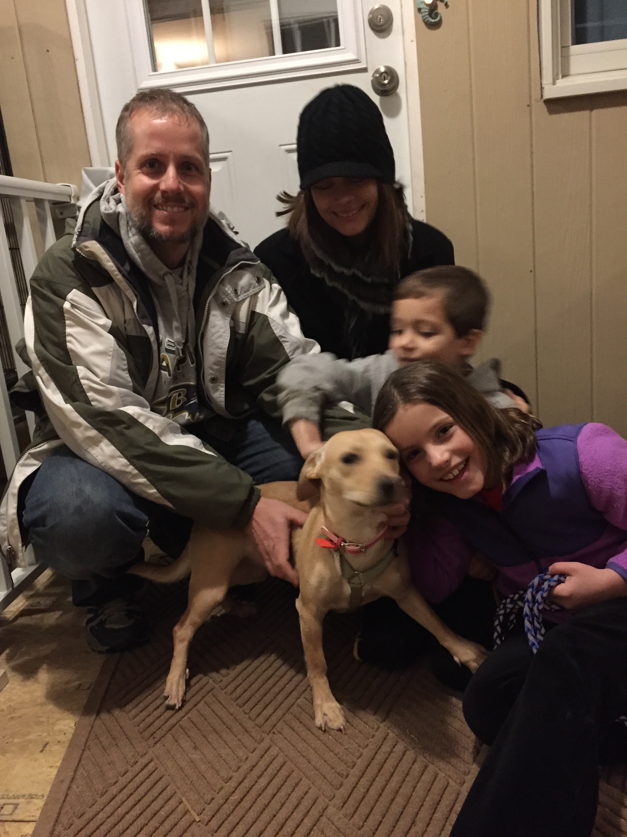 MJ adopted by the Hasting's Family!