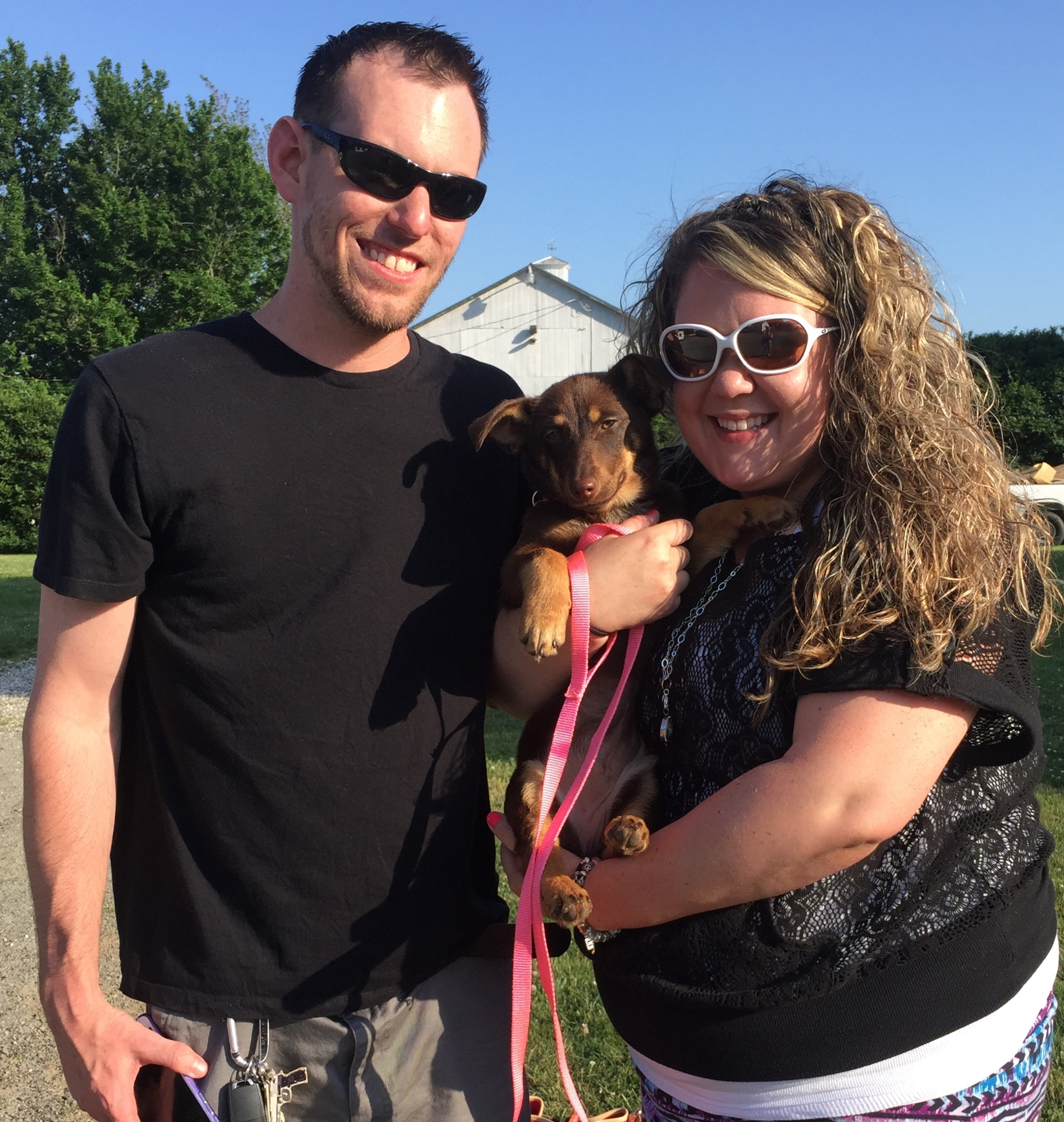 Lucky gets to be spoiled by Erica and Jason for the rest of her life!