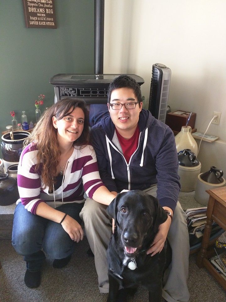 Cooper hopes to be a therapy dog with his new parents once he's all done with his heartworm treatment!
