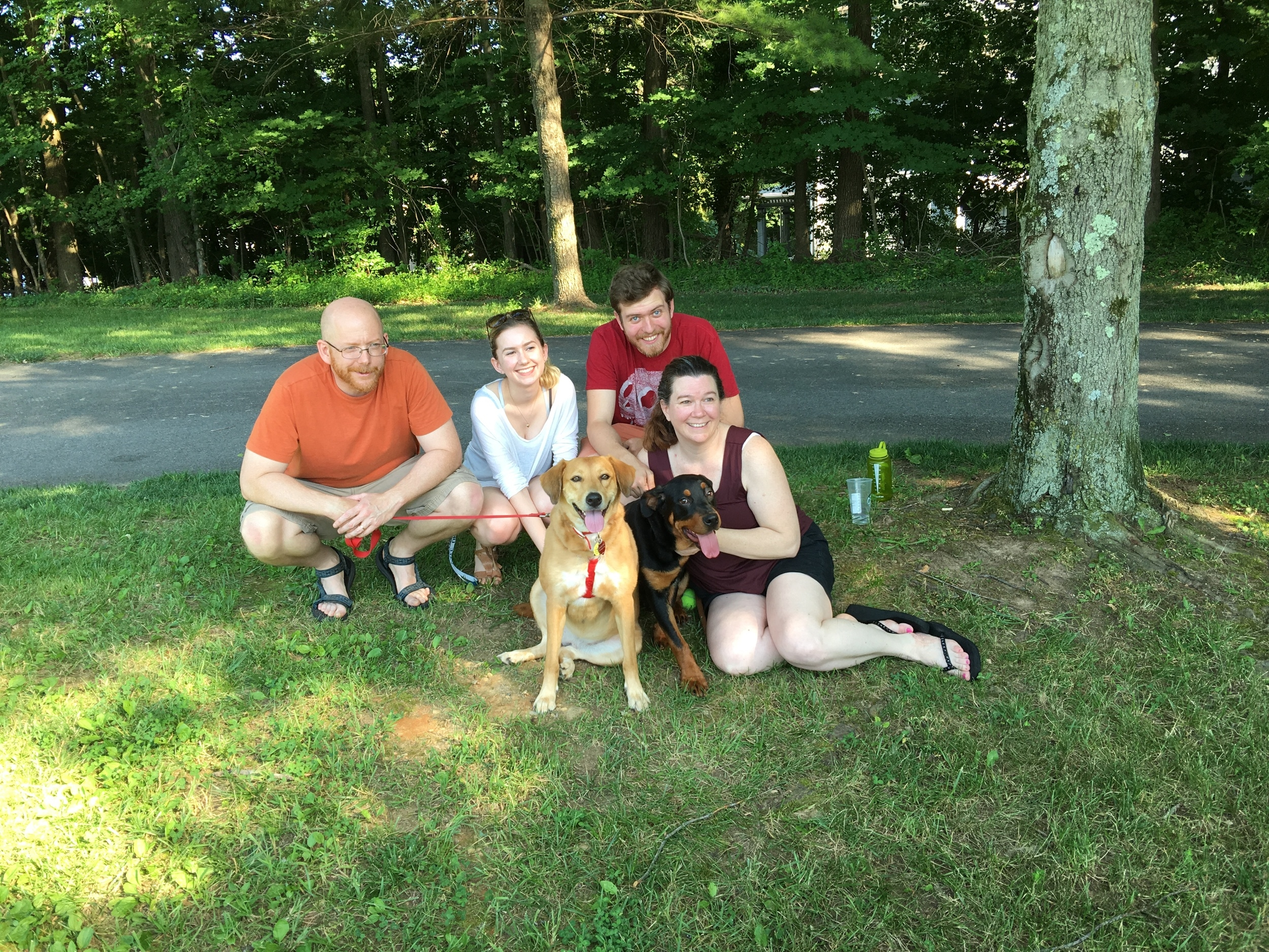Dahlia was adopted by the Zavrotny family!