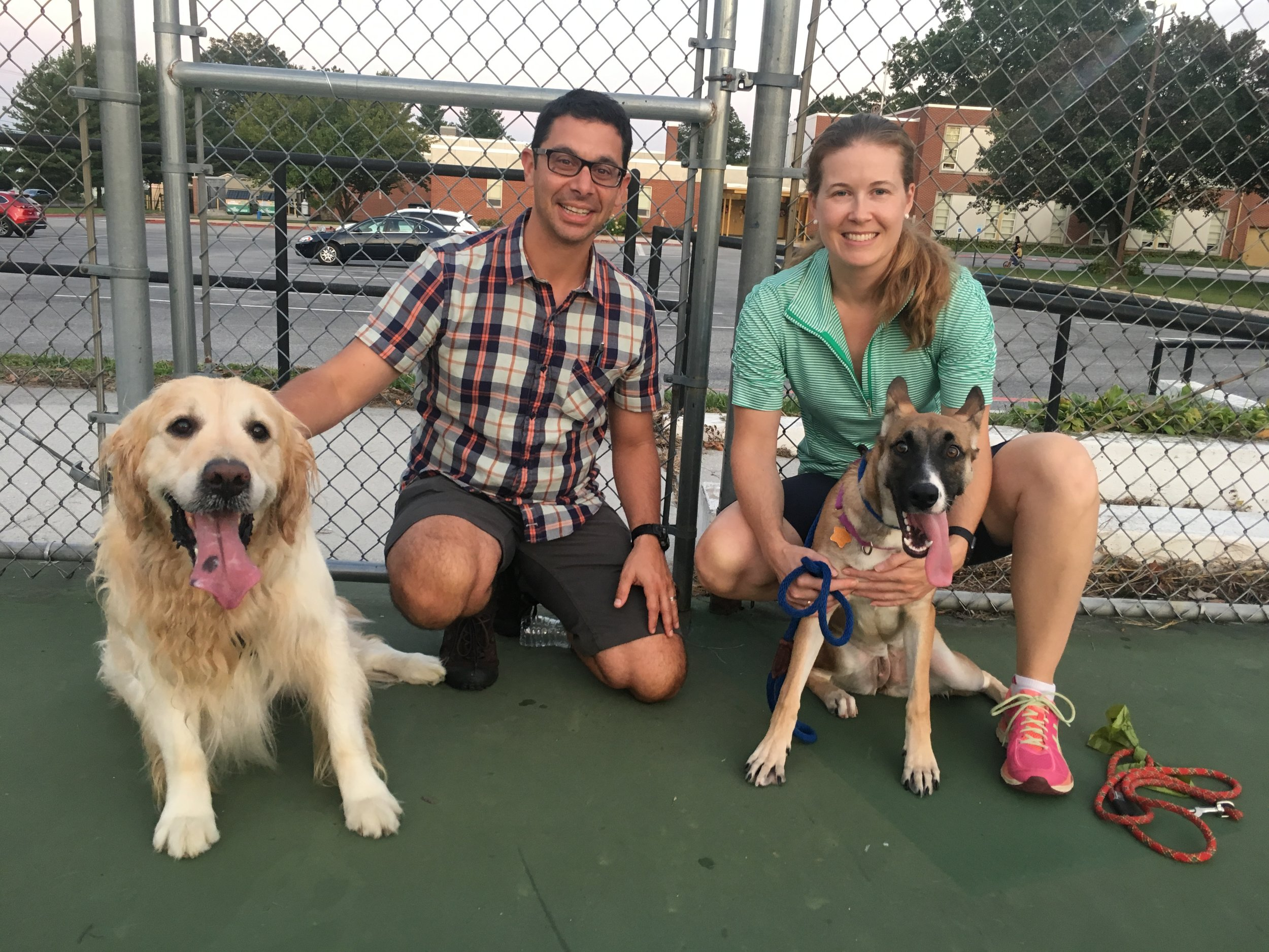 Cleo had a family waiting for her arrival from NC!