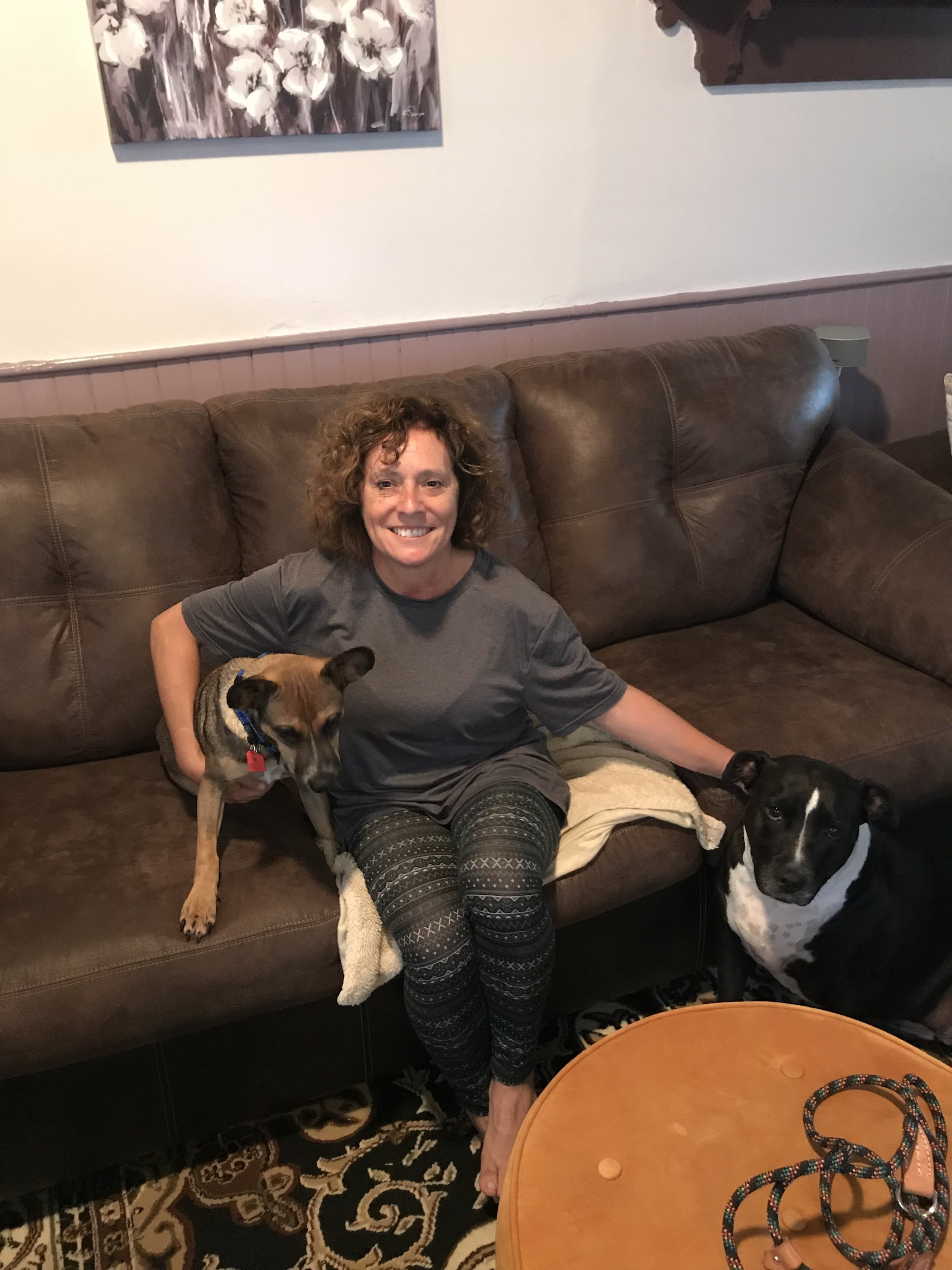 Joyce found her second PZR dog with Jack (left)!