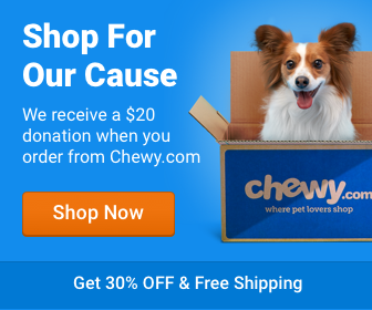 Click here to shop at Chewy and they'll donate to Pugh Zoo!!