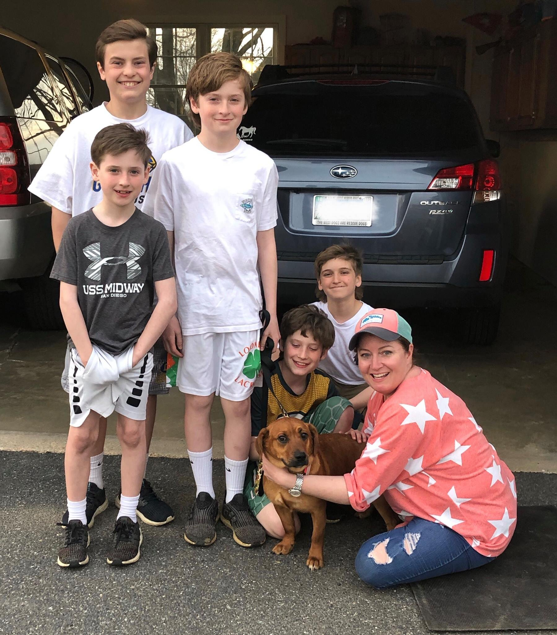 Brayden is going to have lots of fun in his furever family!