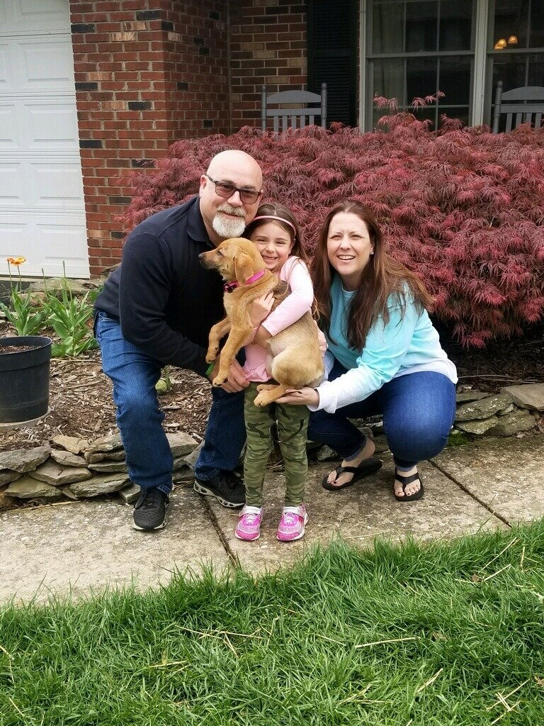 Jillian is already adored by her new family!