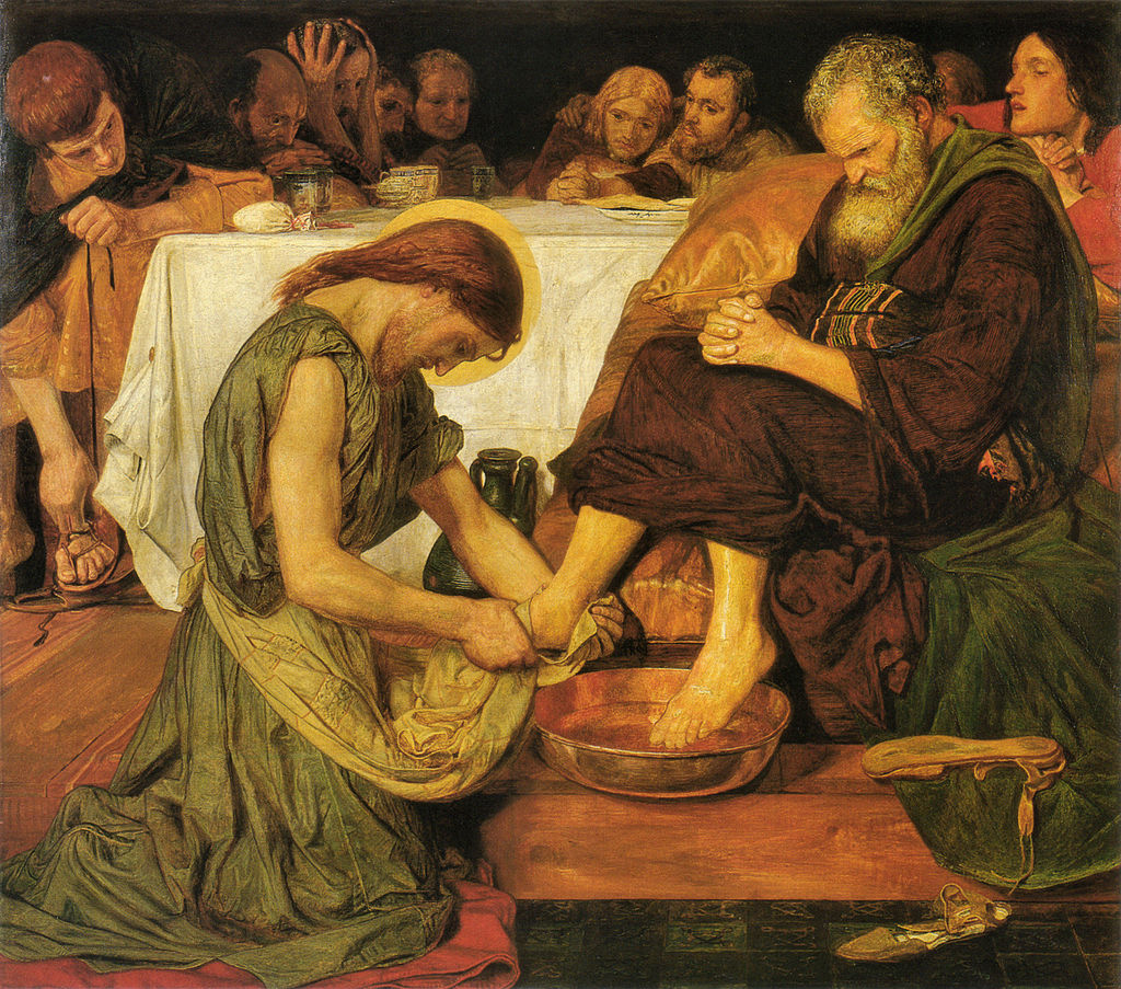 The feet washing ceremony performed by monarchs was known as the  pedilavium.