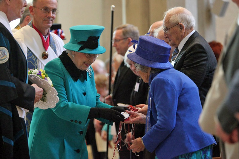 The Queen on Maundy Thursday