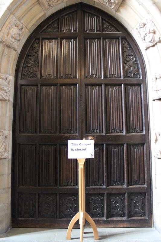 Image 2- chapel door closed sign - Copy.JPG