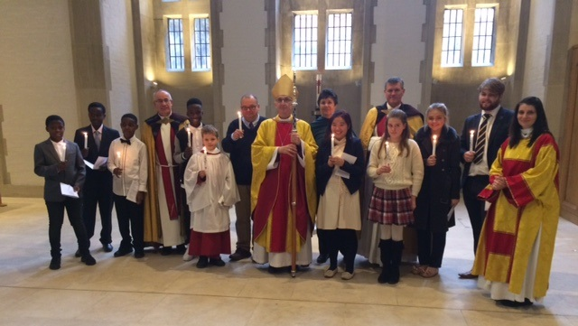 Confirmation and Baptism candidates from 20th November 2016.