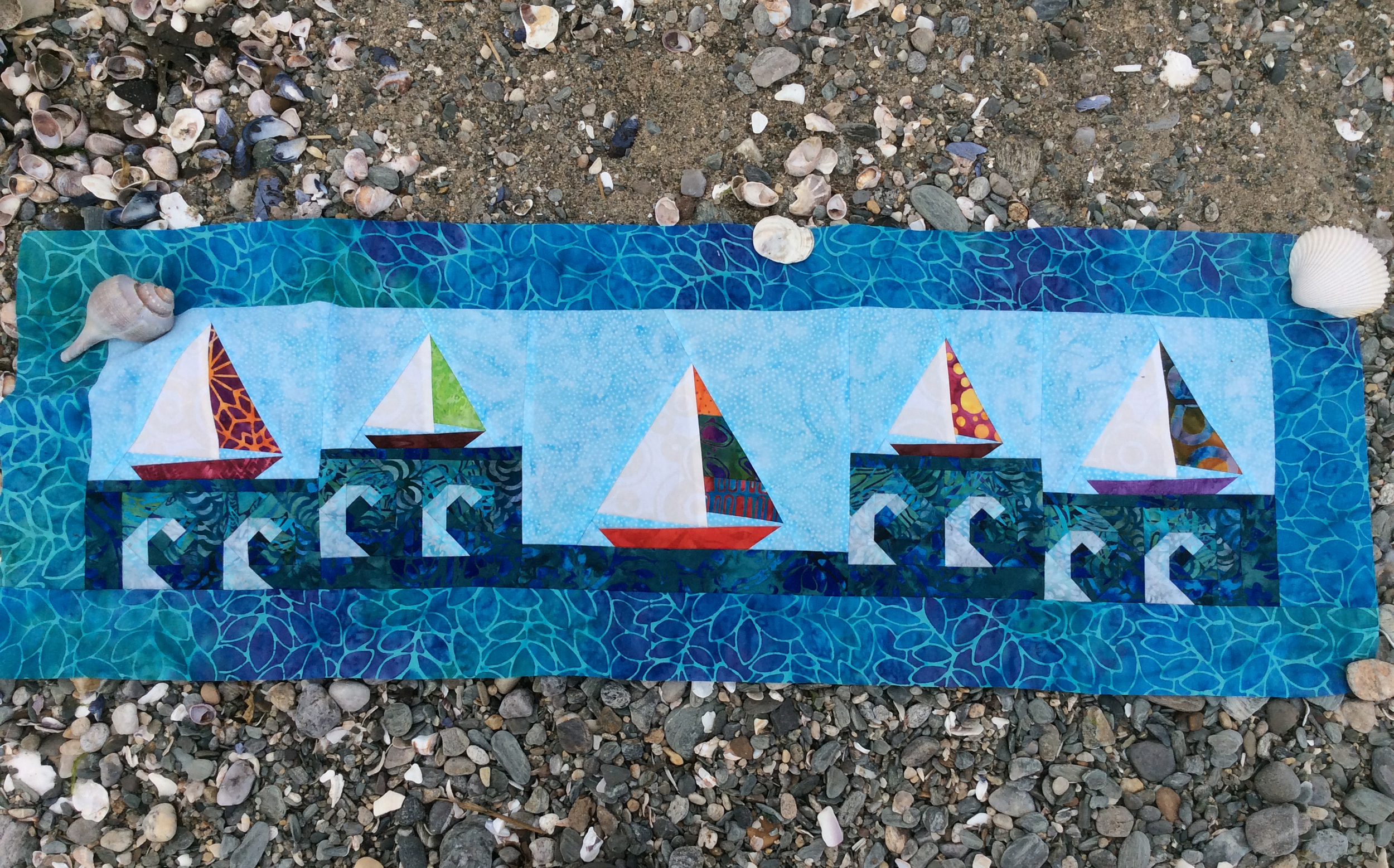 "The Quilt Shop by Lois 2015 Row - ""H20"""