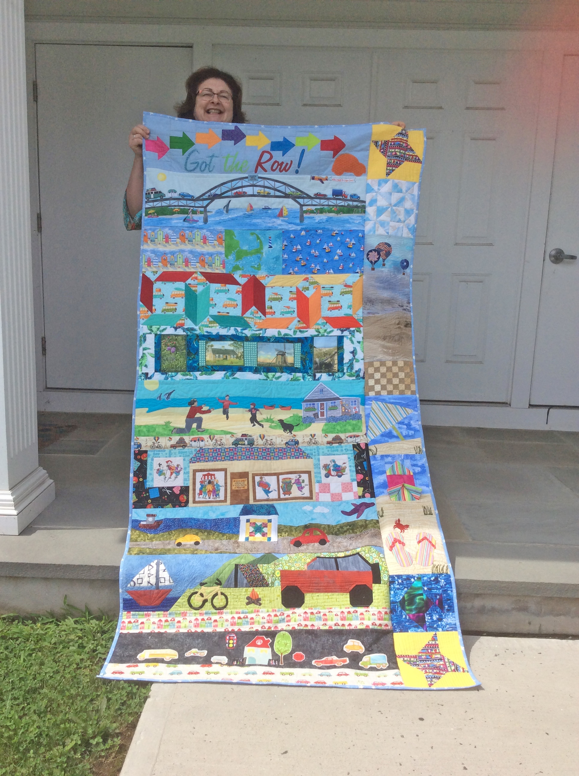 The Quilt Shop by Lois Row by Row 2017 Winner is Cathlin McKissick from Easton, CT.