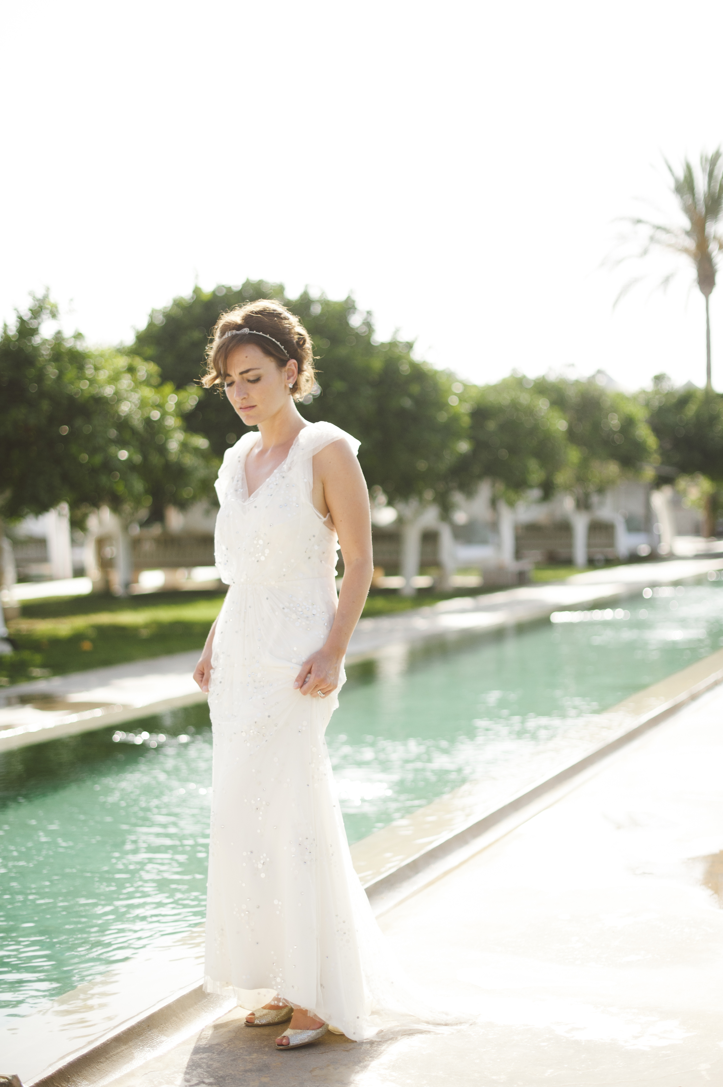 Atzaro Ibiza Wedding - Hair & Makeup Artist Louise Maxwell