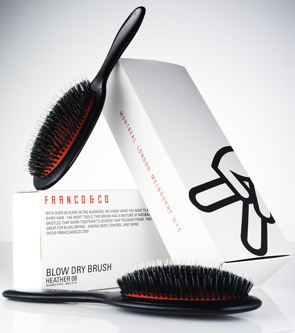 Franco & Co Smoothing brush. 08 medium
