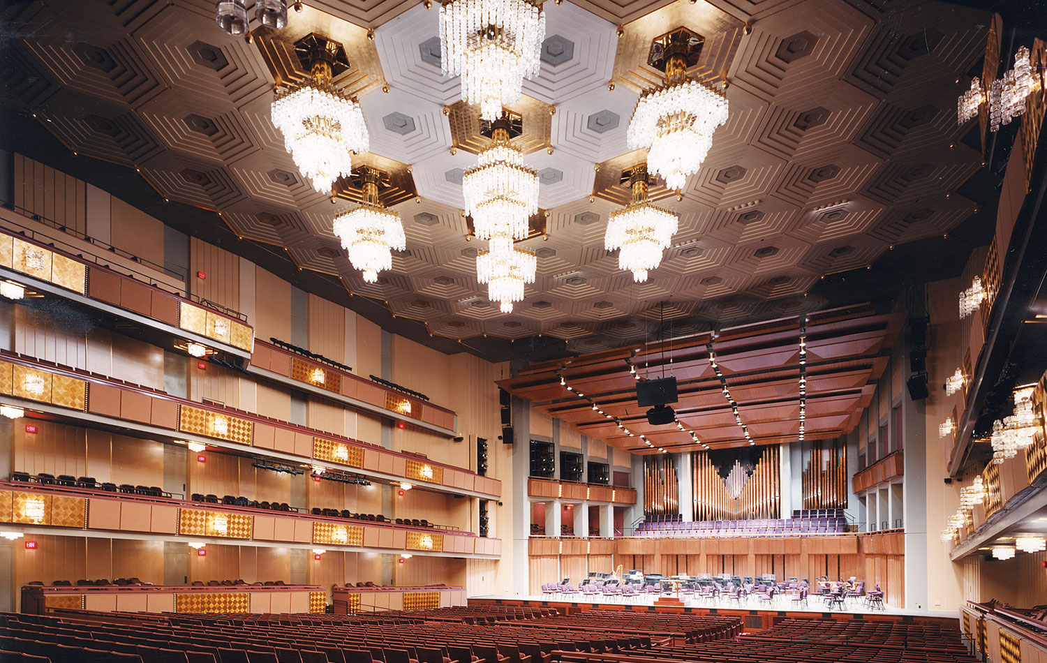 Kennedy Center Concert Hall Renovation    1998  AIA|DC Chapter Design Award for Architecture