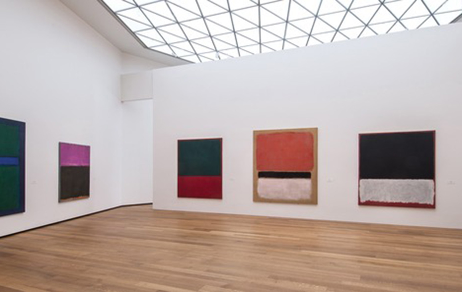 Works by Rothko in the new Tower Gallery (Image: courtesy of the National Gallery of Art, Washington, DC)