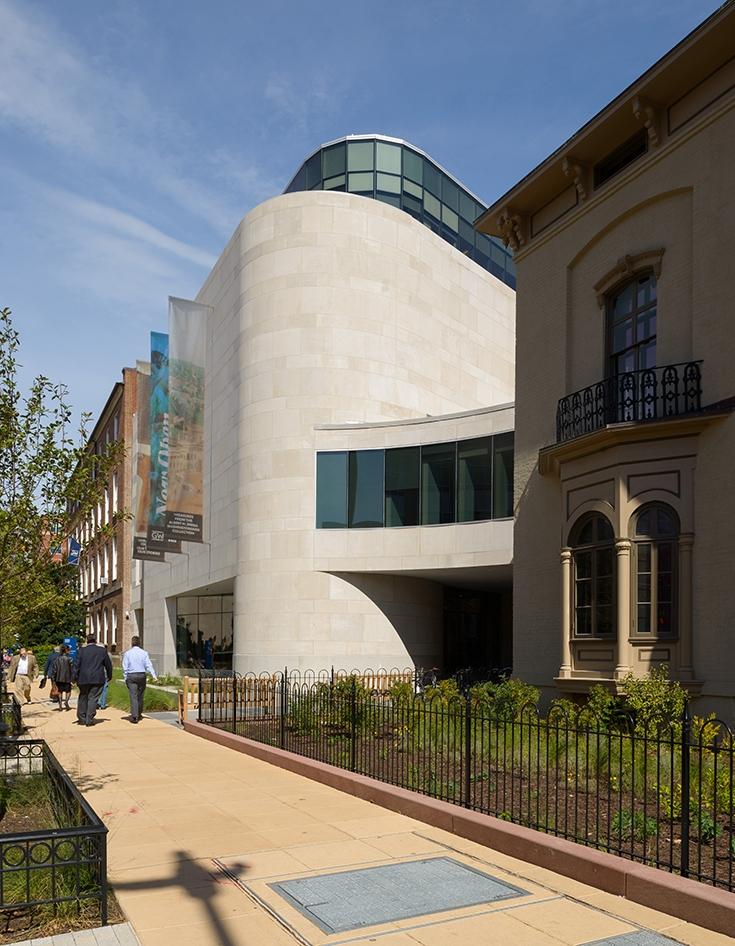 The George Washington University Museum | The Textile Museum     LEED Gold