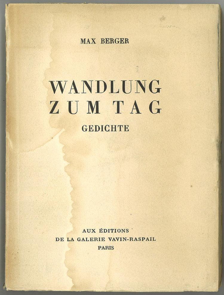 Max Eichenberger Zwitscher Maschine