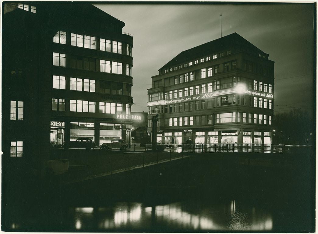 Abb. 10 Galerie Max Eichenberger im 1930 erbauten Agfa Haus am Bleicherweg 10, Fotograf: Gloor  © Baugeschichtliches Archiv Zürich