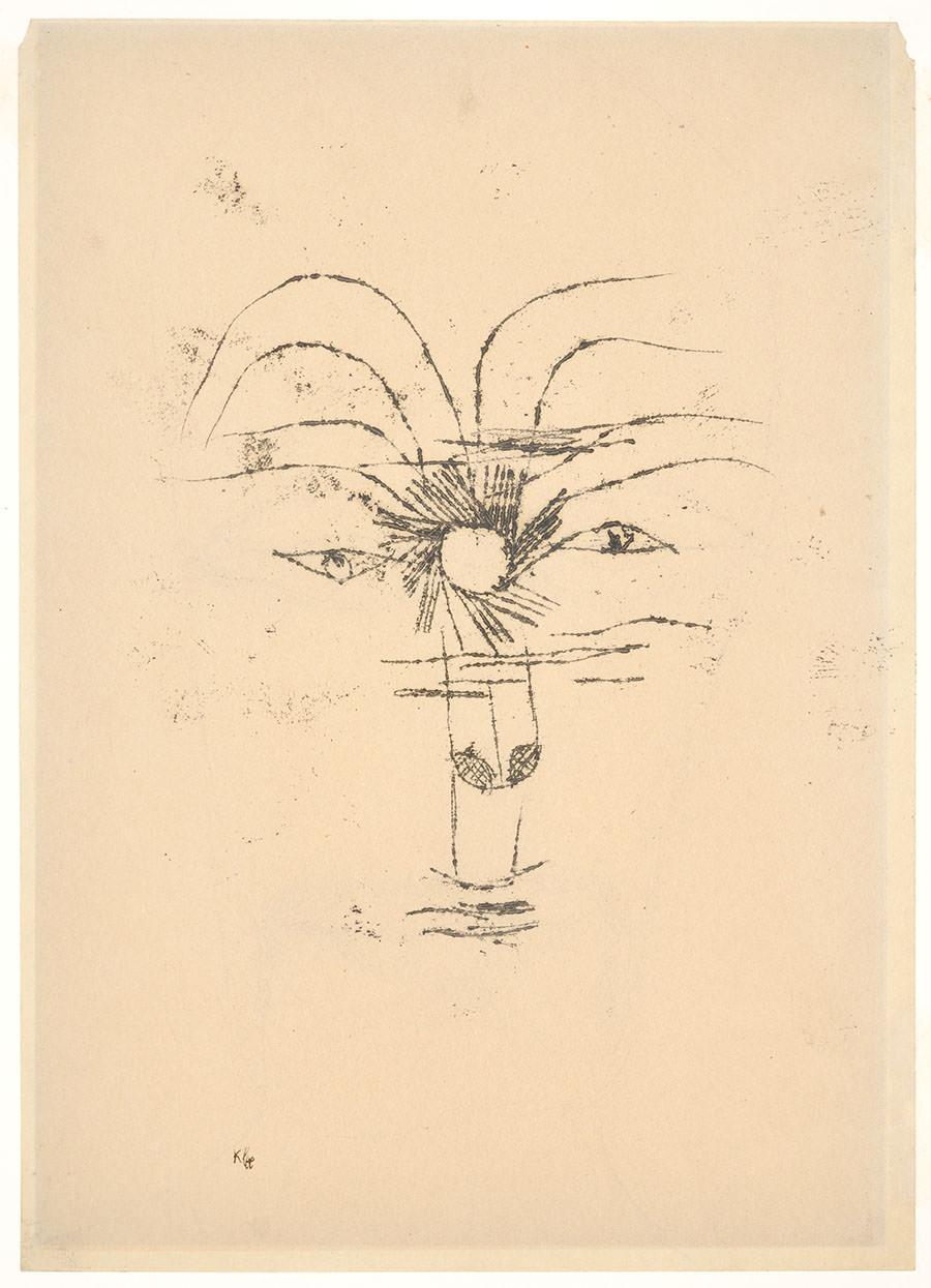 Abb.9 Paul Klee   Mister Sol , 1919, 78, Ölpause auf Papier, 27,2 x 19,6 cm, Privatbesitz ©Zentrum Paul Klee, Bern, Archiv