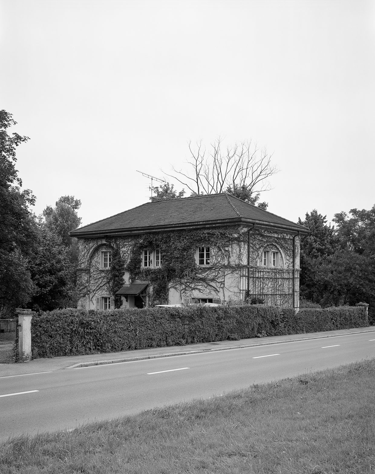 Das ehemalige Zollhaus in Faoug (VD) am Murtensee, 2005, Fotograf: Dominique Uldry ©Bern: Dominique Uldry
