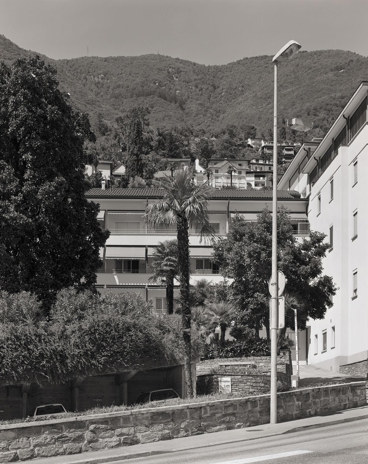 Abb. 16  Klinik S. Agnese, Locarno-Muralto, aus Südwesten , 2005, Fotograf: Dominique Uldry ©Bern: Dominique Uldry