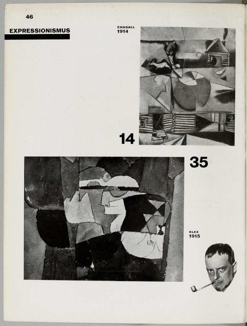 El Lissitzkyund Hans Arp, Die Kunstismen = Les ismes de l'art = The isms of art, Erlenbach-Zürich: Rentsch, 1925, S. 46