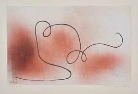 Paul Klee  Träger für ein Schild , 1934, 72 Aquarell, teilweise gespritzt, und Kreide auf Grundierung auf Papier, verso Zeichnung (Zulustift), auf Karton, 21 x 32,7 cm, Privatbesitz, Schweiz ©Zentrum Paul Klee, Bildarchiv