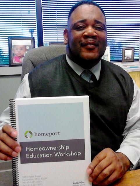 Homeport Housing Advisor Kerrick Jackson