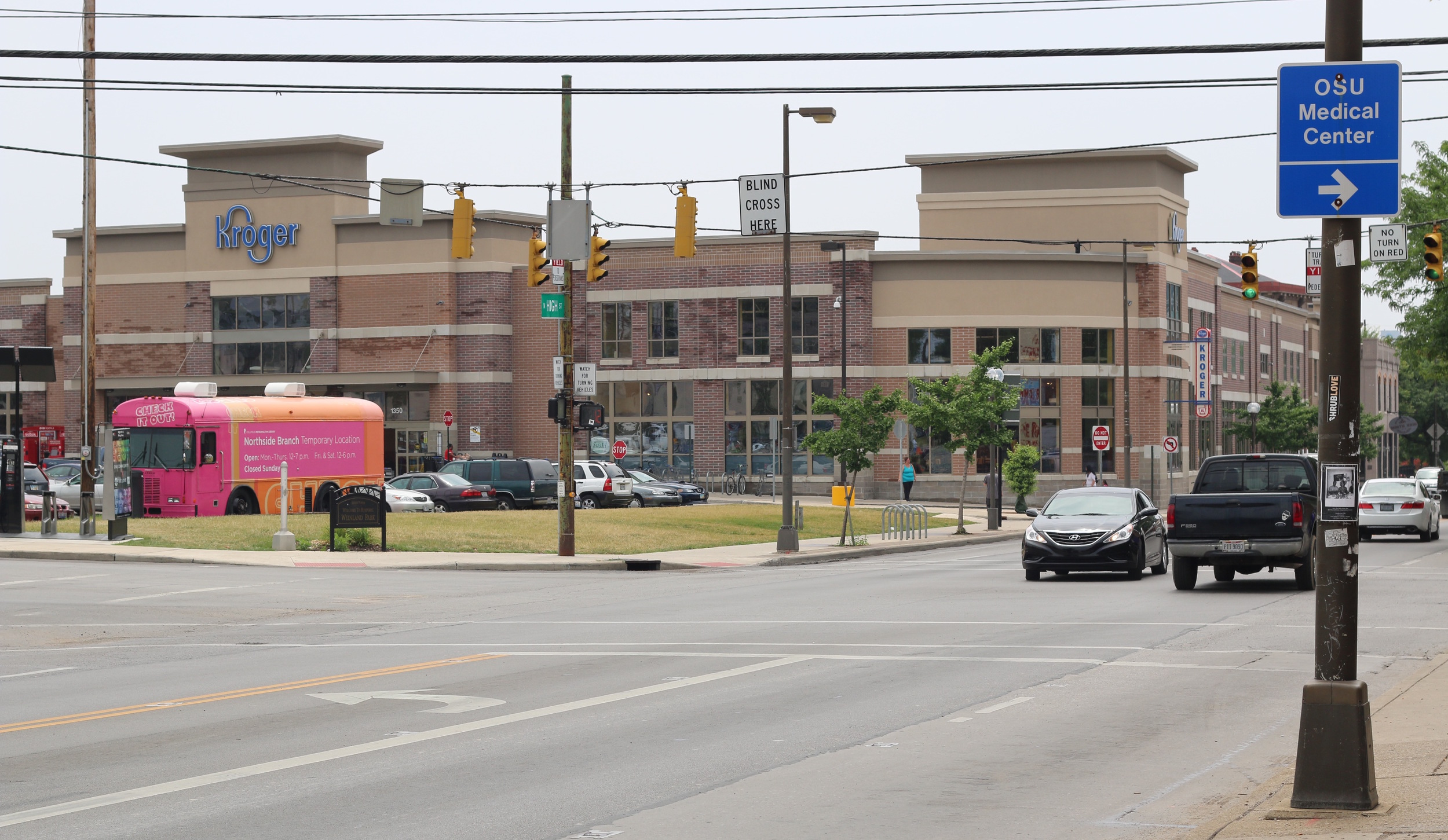 Nearby Kroger at King Avenue and North High Street