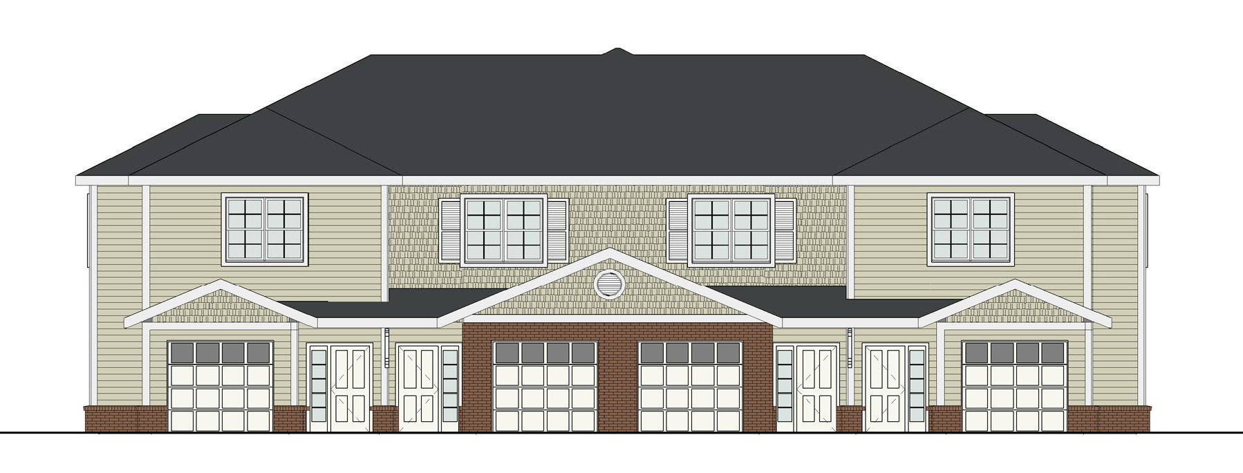 Each of the Blacklick Crossing apartments will have a garage.