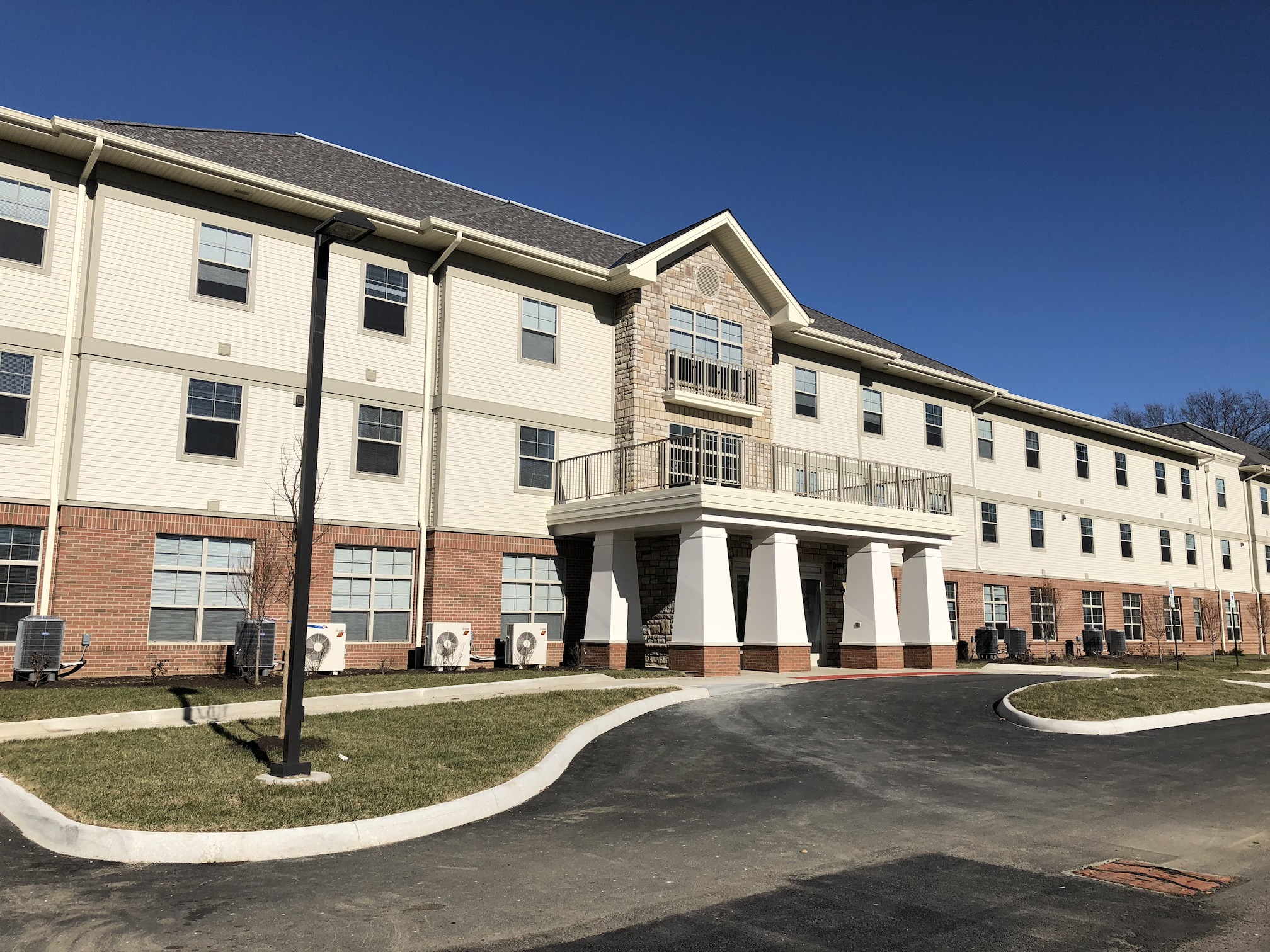 Hamilton Crossing, 64 affordable apartments for seniors in Whitehall, is the latest Homeport project financed thanks to OCCH.
