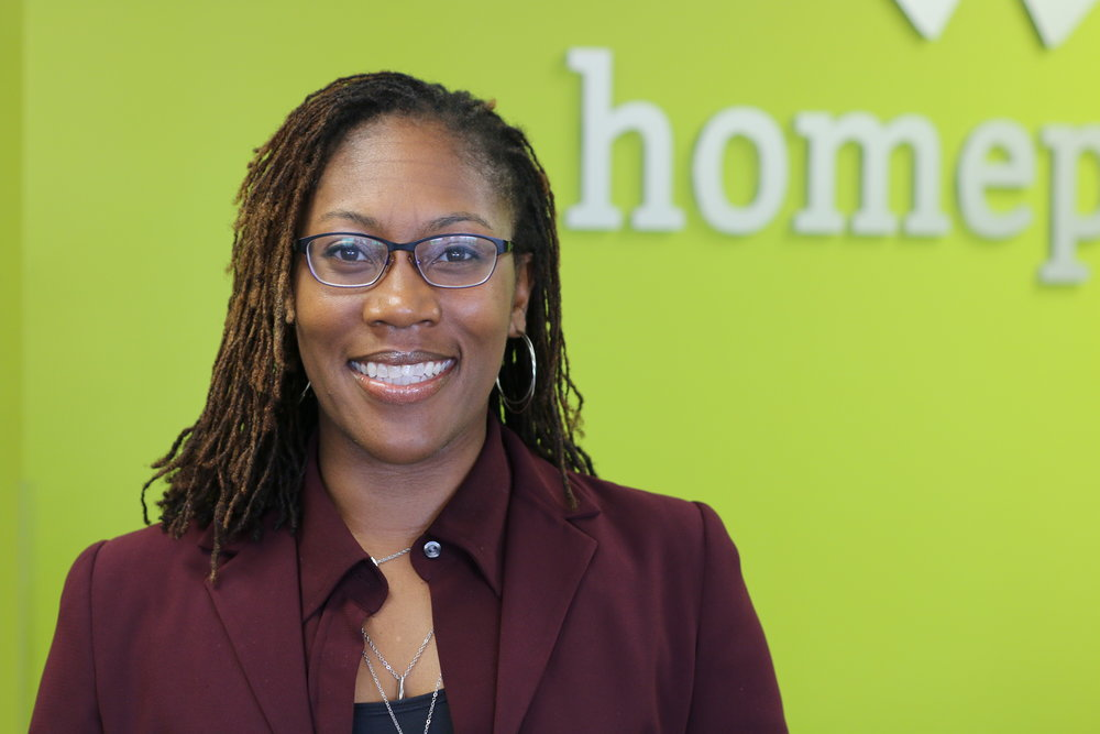 Leah Evans, Homeport Senior VP of Real Estate