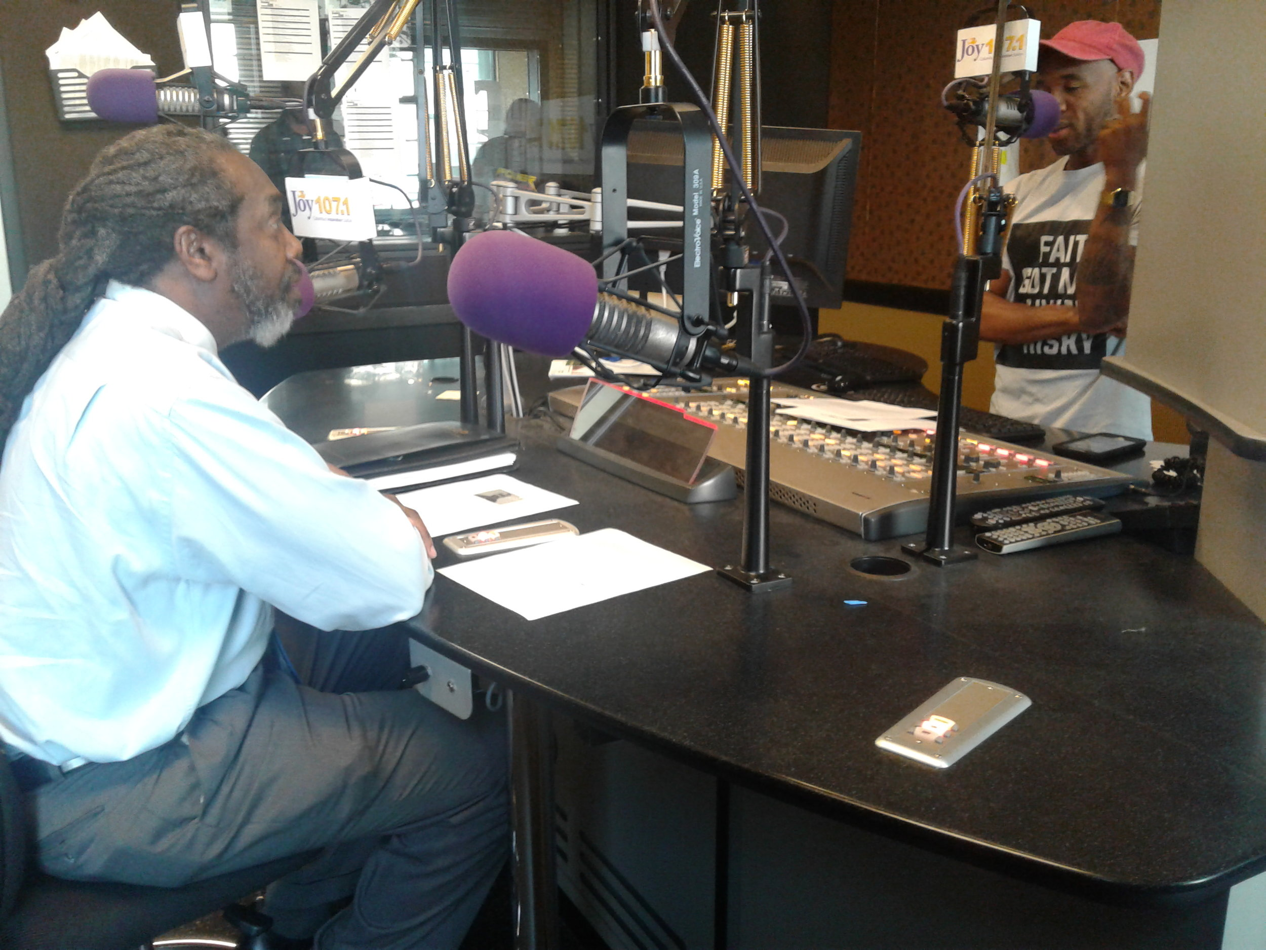 Homeport Senior Counseling Advisor Layden Hale, left, visited Radio-One Columbus studios in June. Layden was interviewed by 'Eye on the Community' program host Yaves Ellis. Click below and listen to Layden talk about Financial Fitness education offered by Homeport and its role in homeownership. June was National Homeownership Month.